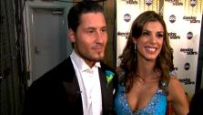 Elisabetta Canalis  talks to OnTheRedCarpet.com after the September 26 episode of Dancing With The Stars. - Provided courtesy of OTRC