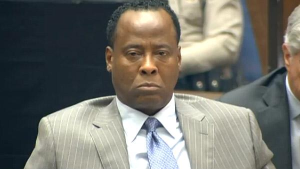 Sept. 27, 2011: Dr. Conrad Murray appears at his involuntary manslaughter trial. He is accused of helped to cause the death of Michael Jackson.