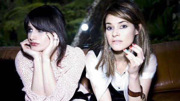 Leisha Hailey appears in an undated photo from her band Uh Huh Hers official Facebook page. - Provided courtesy of Facebook.com/pages/uhhuhher