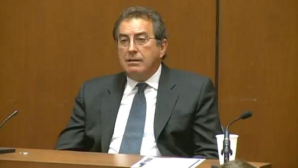 Kenny Ortega appears at Conrad Murray's trial on Sept. 27, 2011.