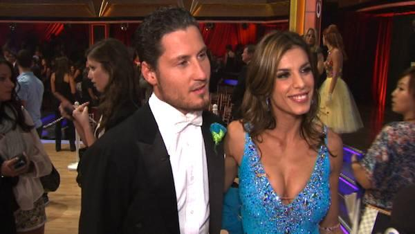 Elisabetta Canalis talks to OnTheRedCarpet.com after second 'Dancing With The Stars' results show on Sep. 27, 2011.