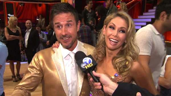 David Arquette talks after 2nd results show