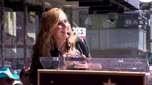 Melissa Etheridge receives a star on the Hollywood Walk of Fame on Sept. 27, 2011. - Provided courtesy of OTRC