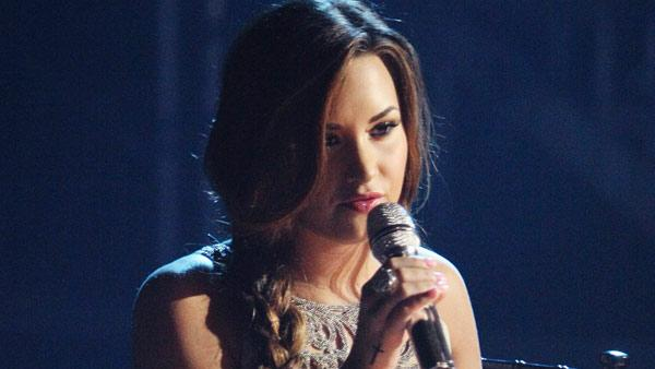 Demi Lovato visited Dancing With The Stars once again and performed Skyscraper from her new album, Unbroken on Dancing With The Stars: The Result Show on Tuesday, September 27, 2011. - Provided courtesy of ABC / Adam Taylor