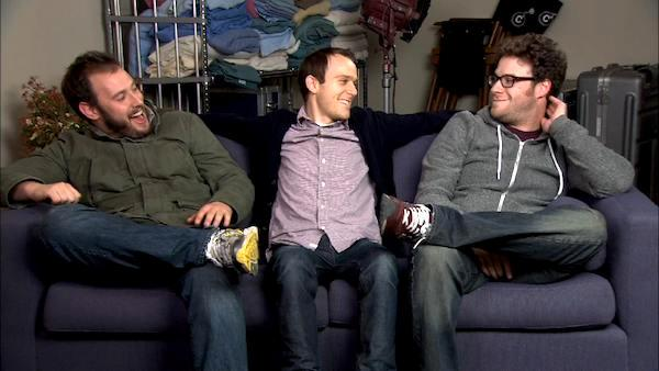 Seth Rogen, Evan Goldberg and Will Reiser talk about '50/50'