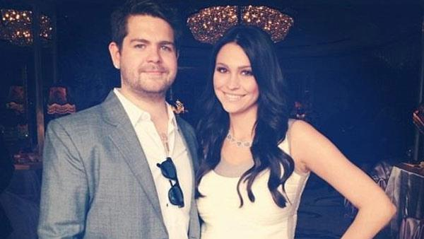 Jack Osbourne and Lisa Stelly appear in a photo posted on Stelly's official Twitter page on Feb. 13, 2012