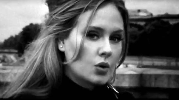 Adele appears in a still from her Someone Like You music video. - Provided courtesy of XL Recordings Ltd