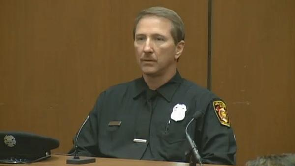Sept. 30, 2011: Paramedic Richard Senneff tesifies at Conrad Murray's involuntary manslaughter trial.
