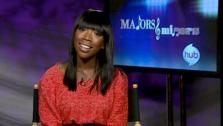 Brandy talks about being a mentor on the Hub reality show Majors and Minors on Sept. 27, 2011. - Provided courtesy of none / OTRC