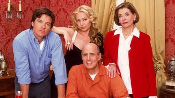 Jason Bateman, Jeffrey Tambor, Portia de Rossi and Jessica Walter in a promotional photo for Arrested Development. - Provided courtesy of Fox