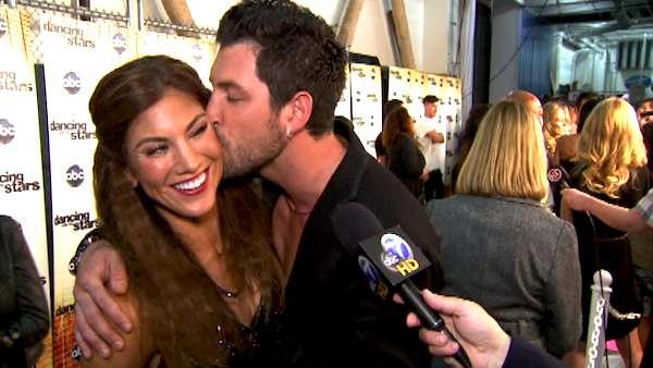 Hope Solo talks to OnTheRedCarpet.com after the October 3 episode of 'Dancing With The Stars.'