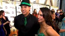 Rob Kardashian talks to OnTheRedCarpet.com after the October 3 episode of Dancing With The Stars. - Provided courtesy of OTRC