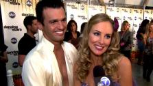Chynna Phillips talks to OnTheRedCarpet.com after her October 3 Dancing With The Stars performance. - Provided courtesy of OTRC