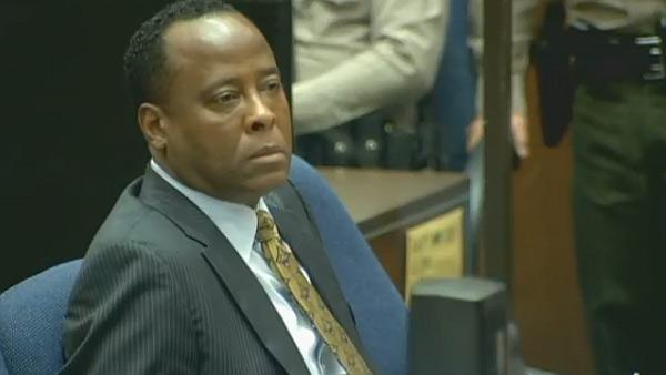 Oct. 5, 2011: Conrad Murray appears at his involuntary manslaughter trial.