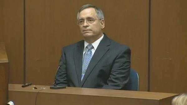 Oct. 5, 2011: Forensic computer examiner Stephen Marx testifies at Conrad Murray's involuntary manslaughter trial.