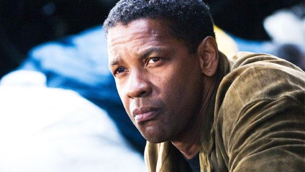 Denzel Washington appears in a still from his 2006 film, Deja Vu. - Provided courtesy of Touchstone Pictures / Ron Phillips