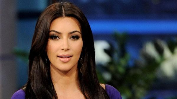 Kim Kardashian appears in a photo from her appearance on 'The Tonight Show' on June 14, 2011.