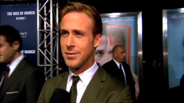 Ryan Gosling appears at the Hollywood premiere of The Ides of March. - Provided courtesy of Columbia Pictures