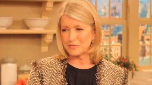 Martha Stewart talks about daughter's book