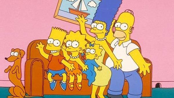 The Simpsons cast appear in a drawing by animator Matt Groening. - Provided courtesy of Photo courtesy of FOX / Matt Groening
