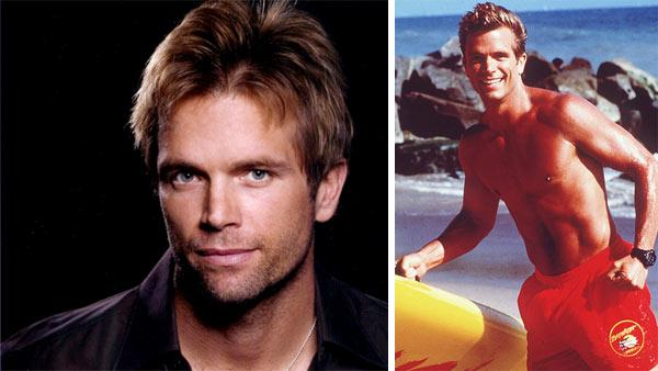 David Chokachi appears in a publicity photo posted on his website. / David Chokachi appears in a promotional photo for 'Baywatch.'