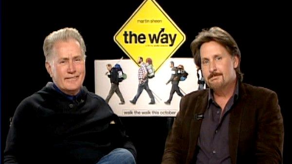 Emilio Estevez and Martin Sheen talk to KABC, the parent company of OnTheRedCarpet.com. - Provided courtesy of KABC