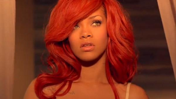 Rihanna appears in a still from her California King Bed music video. - Provided courtesy of The Island Def Jam Music Group