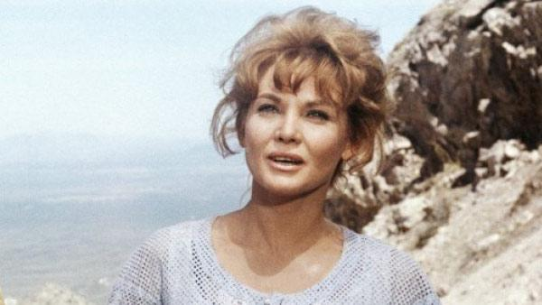 Diane Cilento appears in a still from the 1967 film 'Hombre.'