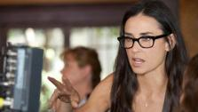 Demi Moore appears behind the scenes, directing the Lifetime short film Charlotte, part of the series Five, which debuts on Oct. 10, 2011. - Provided courtesy of Lifetime