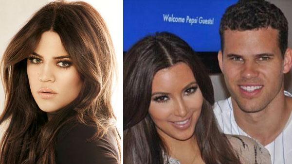 Khloe Kardashian appears in a promotional image for Keeping Up With The Kardashians in 2011. / Kim Kardashian and Kris Humphries appear in a 2011 photo. - Provided courtesy of E!