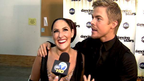 Ricki Lake: I wanted to kill Derek Hough this week