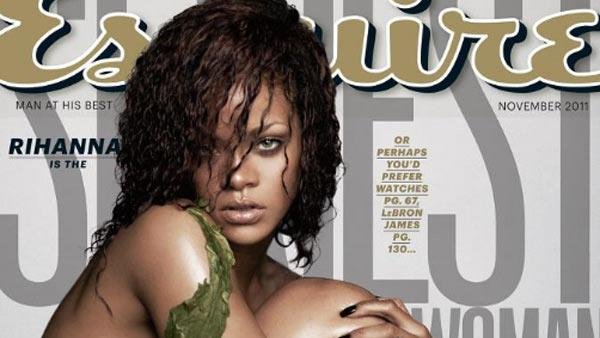 Rihanna appears on the cover of Esquires November 2011 issue. - Provided courtesy of Esquire