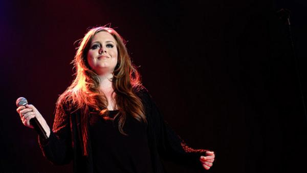 Adele appears in a photo from her official website. - Provided courtesy of OTRC / adele.tv/