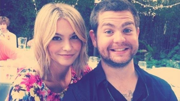Jack Osbourne and Lisa Stelly appear in a photo posted on Stelly's official Twitter page on July 16, 2011.