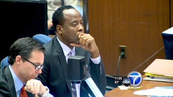 During day 11 of the Conrad Murray trial, the doctor's defense dropped a key claim that Jackson ingested propofol orally.