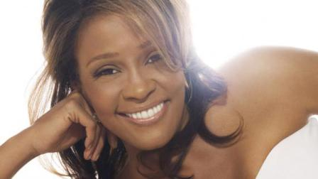 Singer Whitney Houston appears in an undated photo from her official website.