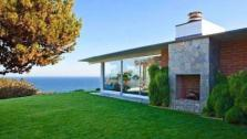 Brad Pitts Malibu beach house appears in an undated photo. - Provided courtesy of Realtor.com