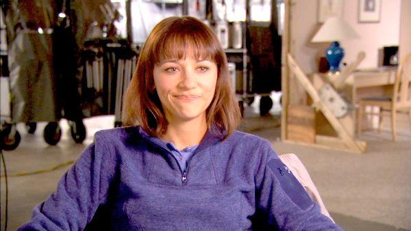 Rashida Jones on working with Steve Martin