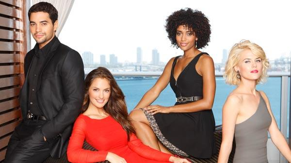 Minka Kelly, Annie Ilonzeh and Rachael Taylor appear in a promotional photo for Charlies Angels. - Provided courtesy of ABC