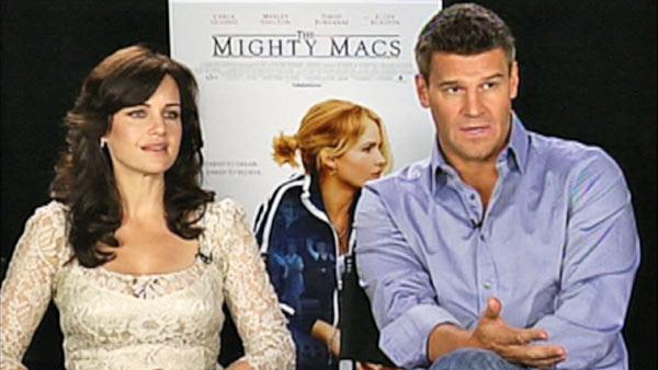 Gugino and Boreanaz talk 'The Mighty Macs'