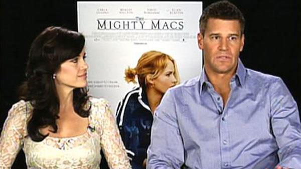 Gugino and Boreanaz talk stepping into new shoes
