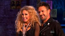 Actor David Arquette and his partner Kym Johnson appear on Dancing With The Stars, in an episode which aired on October 17, 2011. - Provided courtesy of ABC