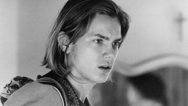 River Phoenix appears in a still from the 1990 film, I Love You To Death. - Provided courtesy of Chestnut Hill Productions