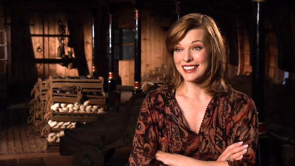 Milla Jovovich chats 'The Three Musketeers'