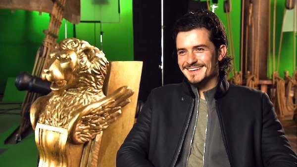Orlando Bloom talks 'The Three Musketeers'