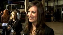 Katie Featherston talks to OnTheRedCarpet.com at the premiere of Paranormal Activity 3. - Provided courtesy of OTRC