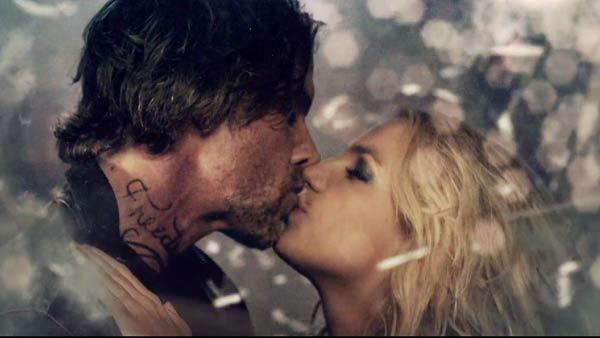 Britney Spears and Jason Trawick in a scene from her video for Criminal in October 2011. - Provided courtesy of Britney.com