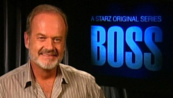 Kelsey Grammer talks to OnTheRedCarpet.com in a satellite interview on Oct. 21, 2011, the day his new Starz series Boss premiered. - Provided courtesy of OTRC