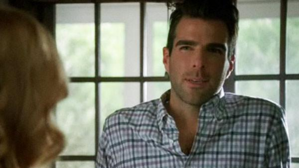 Zachary Quinto appears in a still from a 2011 episode of American Horror Story. - Provided courtesy of FX