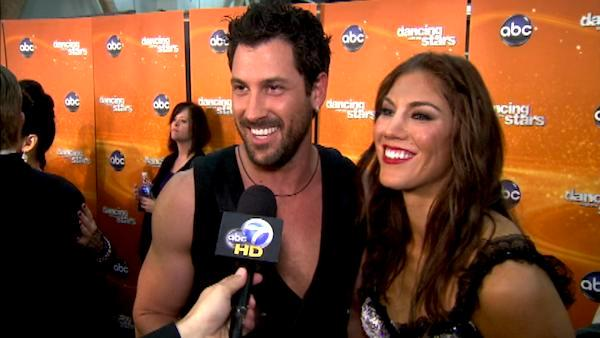 Maksim Chmerkovskiy, Hope Solo on outburst